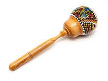 Маракас расписной деревянный