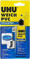 Клей UHU прозрачный для ПВХ - 30г