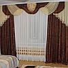 Комплект штор с ламбрекеном №241 3м Дана, фото 4