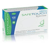 """Перчатки смотровые латексные текстурированные неопудренные с витамином Е """"Safe Touch"""""""