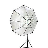 Софтбокс октобокс для фотосъемки на 5 ламп E27 Massa 90 см