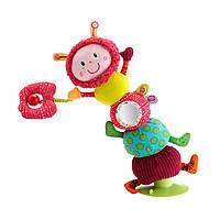Lilliputiens - Мягкая игрушка-балансир гусеница Джульетта