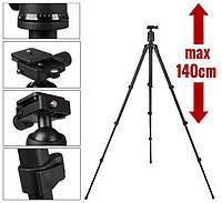 Штатив для фотоаппарата с шаровой головой Weifeng 3012B (48 - 140 см)