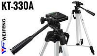 Штатив для фотоаппарата Weifeng KT-330A (51 - 145 см)