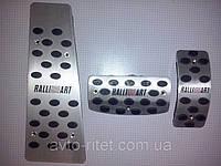 Накладки на педали Ralliart для Mitsubishi L200