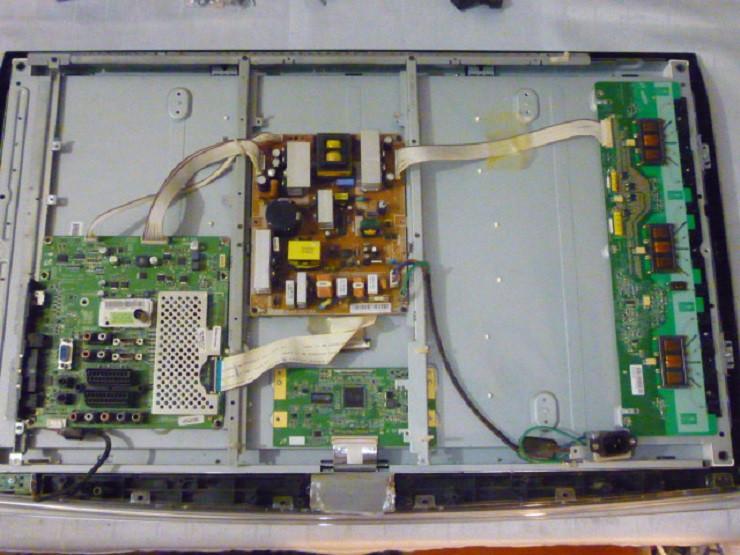 Плати від LCD TV Samsung LE32A450C2XUA поблочно, комплекті (неробоча матриця).