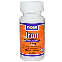 Iron 18 mg (120 veg caps)