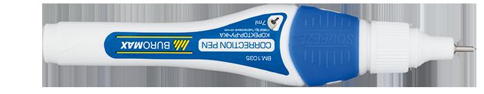 Коректор-ручка 8 мл., мет. кінчикBM.1035