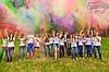 Фарба Холі (Гулал), Біла, 100 грам, суха порошкова фарба для фествиалів, флешмобів, фото