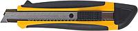 Ніж універсальний 18мм, мет. направляюча, пласт.корп.з гум вставкамиBM.4616