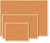 Дошка коркова JOBMAX, 90x120см, дер. рамкаBM.0015