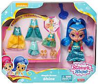 Кукла Шайн с набором одежды - Shimmer and Shine Fisher-Price 15 см