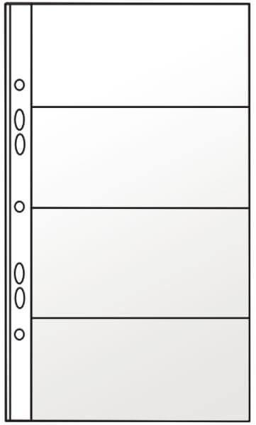 Файл для 8 визиток Panta Plast PVC , 127х242 мм 0311-0002-00