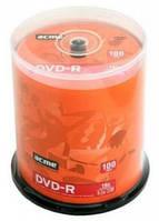 Диск DVD+R, 4,7Gb 16х Cake (100)d.033541