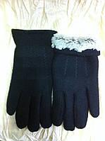 Кашемировые мужские перчатки подкладка иск. мех