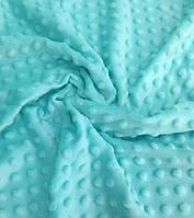 Плюшевая ткань Minky светло-мятный (18)