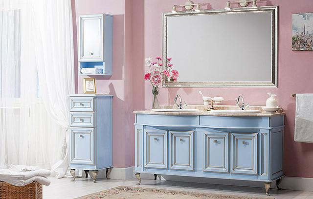 Мебель для ванной и стили интерьера