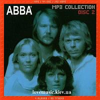 Музыкальный сд диск ABBA MP 3 disk 2 сд