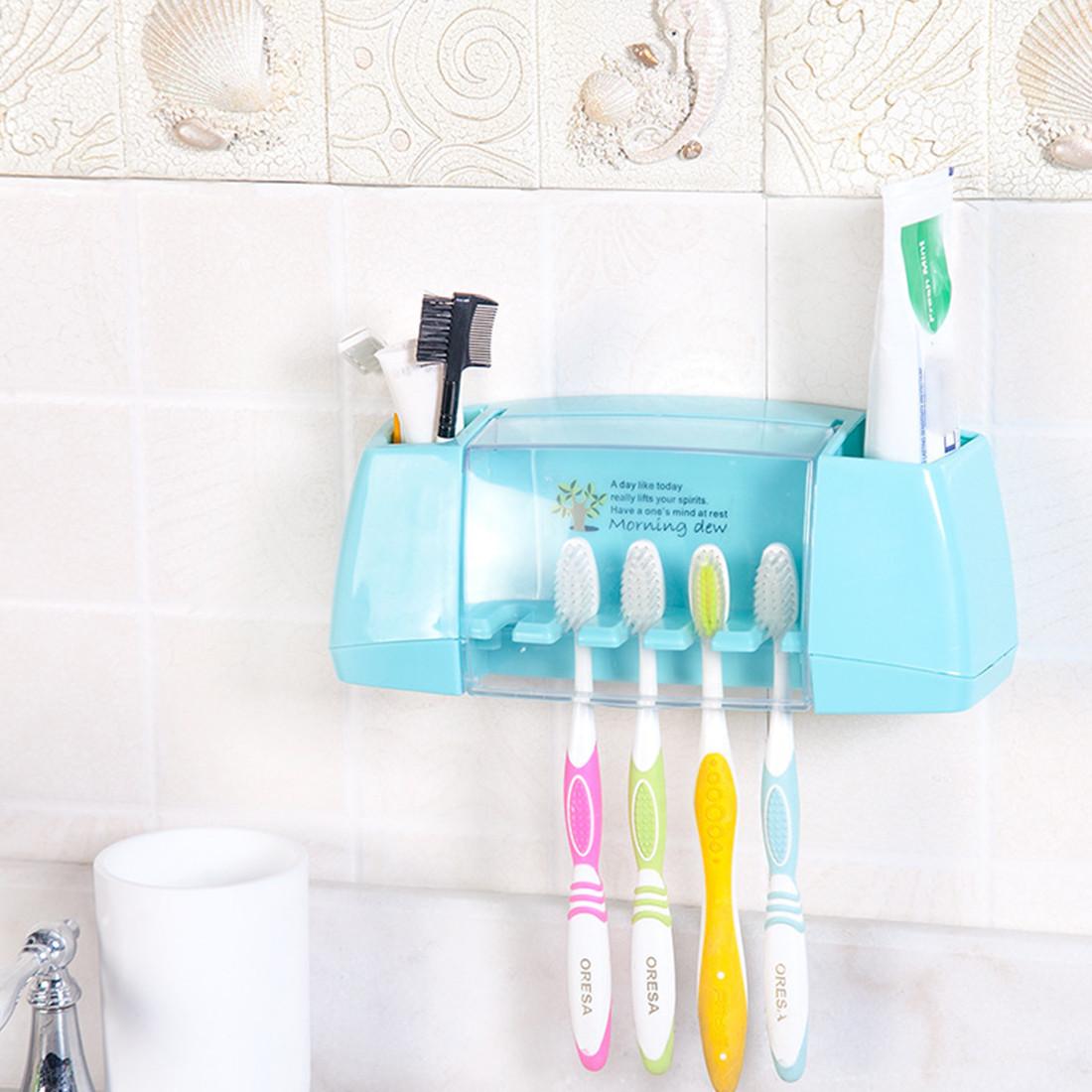 Тримач зубних щіток і пасти Morning Dew - Blue