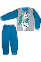 """Детская  пижама """"Olaf"""",футер начес"""
