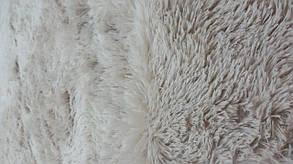 Покрывало-плед Меховый 220*240см, Кремовый, фото 2