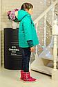 Куртка весенняя для девочки «Миледи», цвет  бирюза Размер 32, фото 3