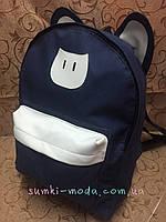 Рюкзак Кот кожзаменителем(только оптом)Рюкзаки спортивный /Рюкзак городской/спорт рюкзаки/Рюкзак стильный