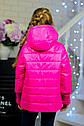 Куртка весенняя для девочки «Миледи», цвет малина Размер 32-42, фото 2