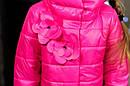 Куртка весенняя для девочки «Миледи», цвет малина Размер 32-42, фото 3