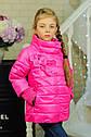 Куртка весенняя для девочки «Миледи», цвет малина Размер 32-42, фото 4