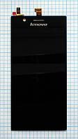 Модуль (дисплей + сенсор) Lenovo K900 black original