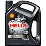 SHELL HELIX ULTRA 5W-40 4L Масло моторное синтетическое д/авто