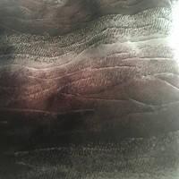 Чехлы универсальные искуственный мех Волна В черн/сер/т.коричневый фон (полный комплект)