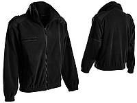 Куртка флисовая французкая F2 MIL-TEC Черный ОЧЕНЬ ТЁПЛАЯ