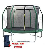 Батут Total sport Premium Польша 305 см с внутренней сеткой и лесенкой