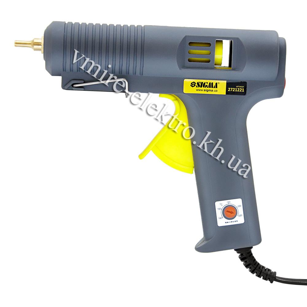 Клеевой пистолет с регулятором температуры 140-220°С 11,2 мм 500 W Sigma