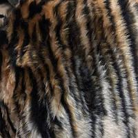 Чехлы универсальные искуственный мех коричневый  (полный комплект)