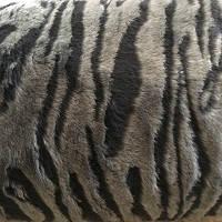 Чехлы универсальные искуственный мех темно-серые (полный комплект)