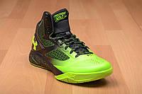 Кроссовки баскетбольные мужские Under Armour Curry салатово-черные , фото 1