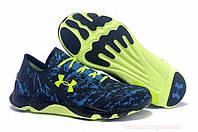 Мужские кроссовки беговые Under Armour Runing UA Speedform Blue green  , фото 1