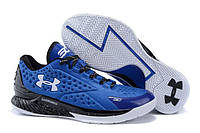 Баскетбольные кроcсовки мужские Under Armour Curry синие , фото 1