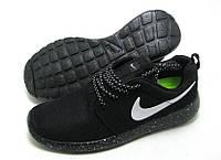 Кроссовки мужские Nike Roshe Run II cosmos черные