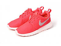 Женские кроссовки Nike Roshe Run II ярко кораллового цвета