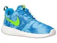 Кроссовки мужские Nike Roshe Run Blue Tropical