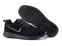 Кроссовки мужские Nike Roshe Run II из натуральной замши