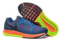 Мужские кроссовки Nike Air Pegasus Pegasus синие оранжевым