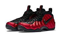 Баскетбольные кроссовки Nike Lebron Foamposite Red Black