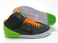 Кроссовки Nike Air Force CD  серо-салатовые