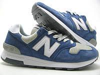 Кроссовки женские New Balance 1400 синие с серым