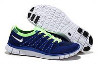 Мужские Кроссовки Nike Free 5.0 Flyknit Blue , фото 1